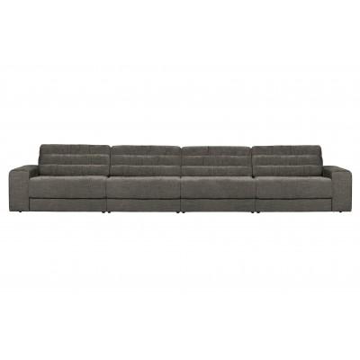 Keturvietė sofa Vintage (pilka)