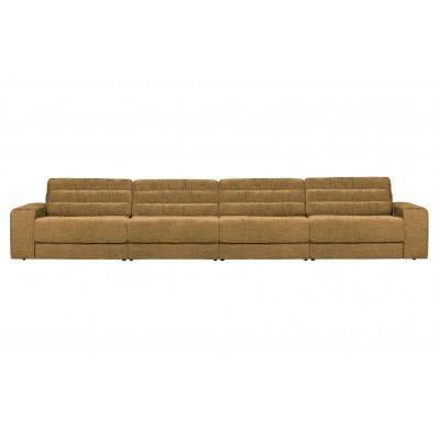 Keturvietė sofa Vintage (aukso)