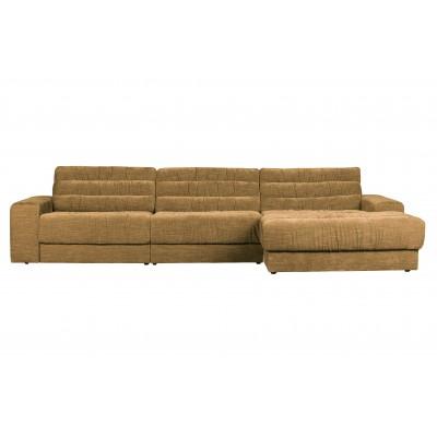 Kampinė sofa Date Vintage, dešininė (aukso)