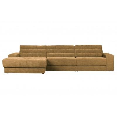 Kampinė sofa Date Vintage, kairinė (aukso)