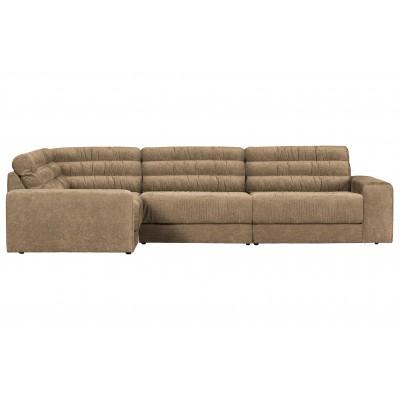 Kampinė sofa Date Vintage, kairinė (smėlio)