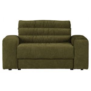 Dvivietis fotelis Date Vintage (žalia)