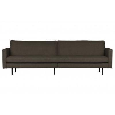 Trivietė sofa Rodeo Stretched (šiltai pilka / ruda)