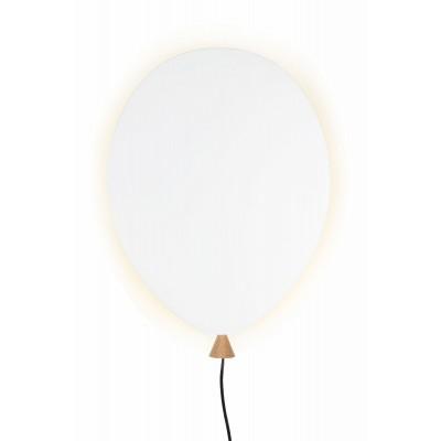 Sieninis šviestuvas Balloon (baltas)