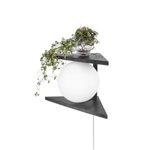 Sieninis šviestuvas Angolo Tree (juodas)