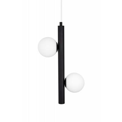 Pakabinamas šviestuvas Pearl 1 (juoda)