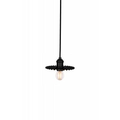 Pakabinamas šviestuvas Omega 15 (juoda)
