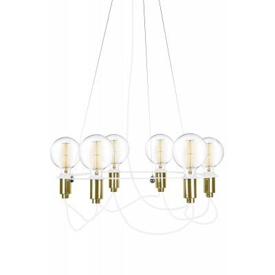 Pakabinamas šviestuvas Cables (baltas)