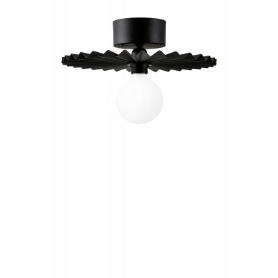 Lubinis / sieninis šviestuvas Omega 35 (juodas)