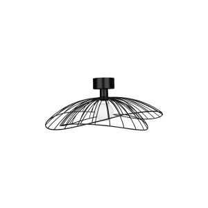 Plafoninis / sieninis šviestuvas Ray (juodas)
