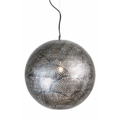Pakabinamas šviestuvas Petra (sidabro spalvos)