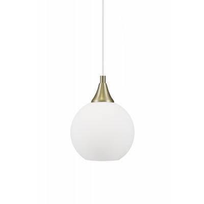 Pakabinamas šviestuvas Mini Bowl 15 (baltas)