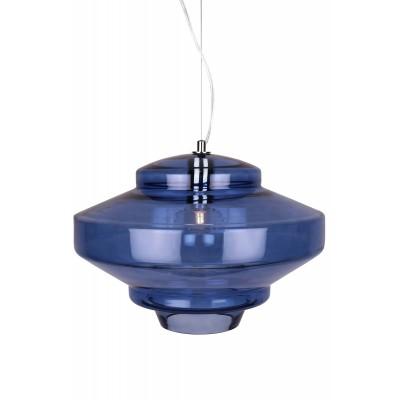 Pakabinamas šviestuvas Duomo (tamsiai mėlynas / chromo spalvos)