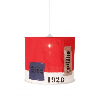 Pakabinamas šviestuvas Newport (raudonas)