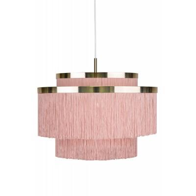 Pakabinamas šviestuvas Frans (rožinis)