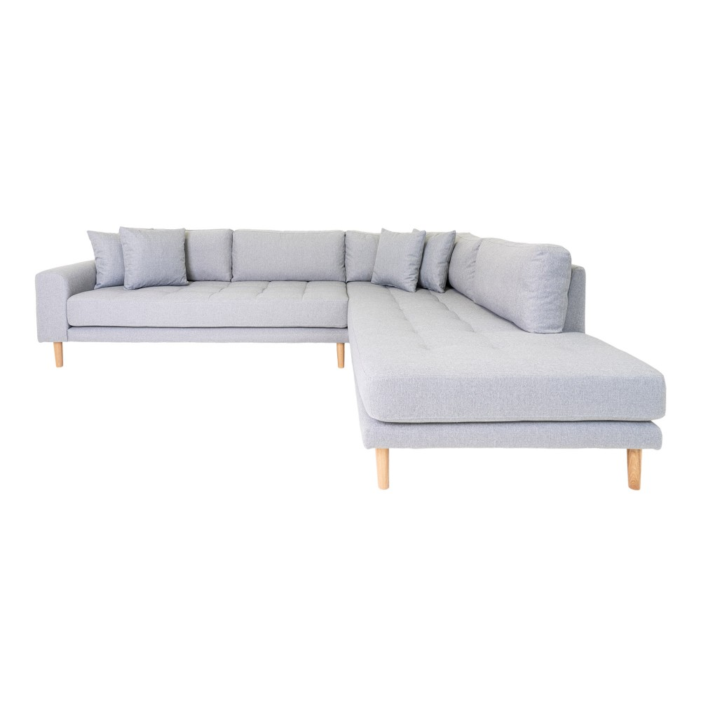 Kampinė sofa su atviru galu Lido