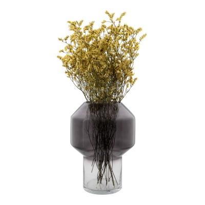 Vaza Matera, stiklas (dūminis atspalvis)