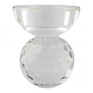 Žvakidė Burano, stiklas (skaidri)