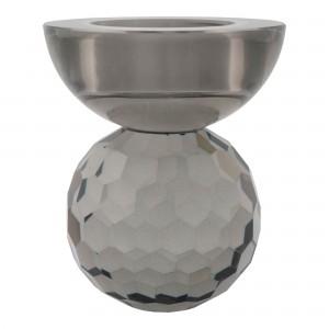 Žvakidė Burano, stiklas (dūminis atspalvis)