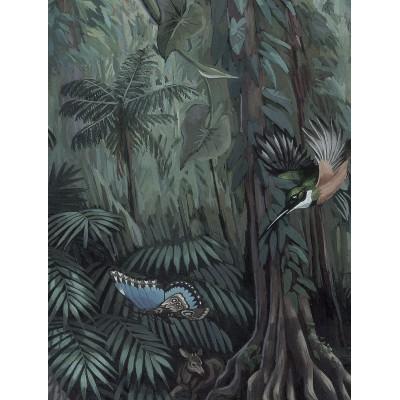 Skritulio formos tapetai XL, tropiniai peizažai