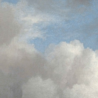 Skritulio formos tapetai, aukso amžiaus debesys