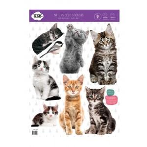 Katinėliai (8 sieninių lipdukų rinkinys)