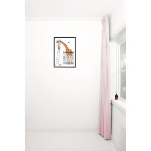 Plakatas, didžiulė žirafa