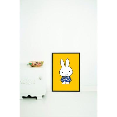 Plakatas, Miffy gėlėta suknelė