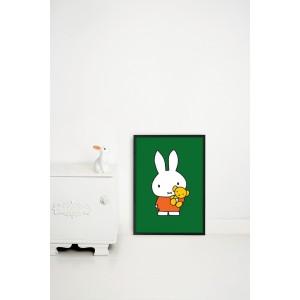Plakatas, Miffy su meškučiu