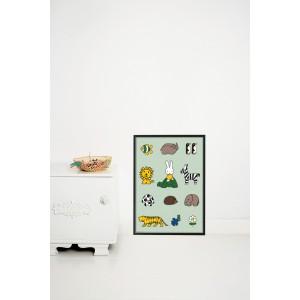 Plakatas, Miffy ir gyvūnai
