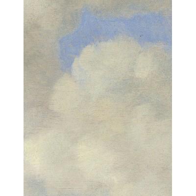 Mažo skritulio formos tapetai, aukso amžiaus debesys