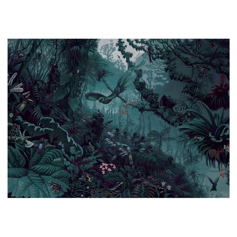 Fototapetas, tropiniai peizažai, žalsvai mėlyni, 8 lakštai