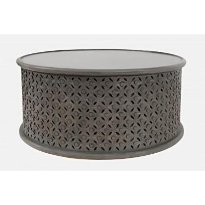Apvalus kavos staliukas Avola Antique Grey