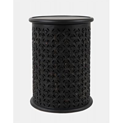Ažūrinis kavos staliukas Avola Antique Black