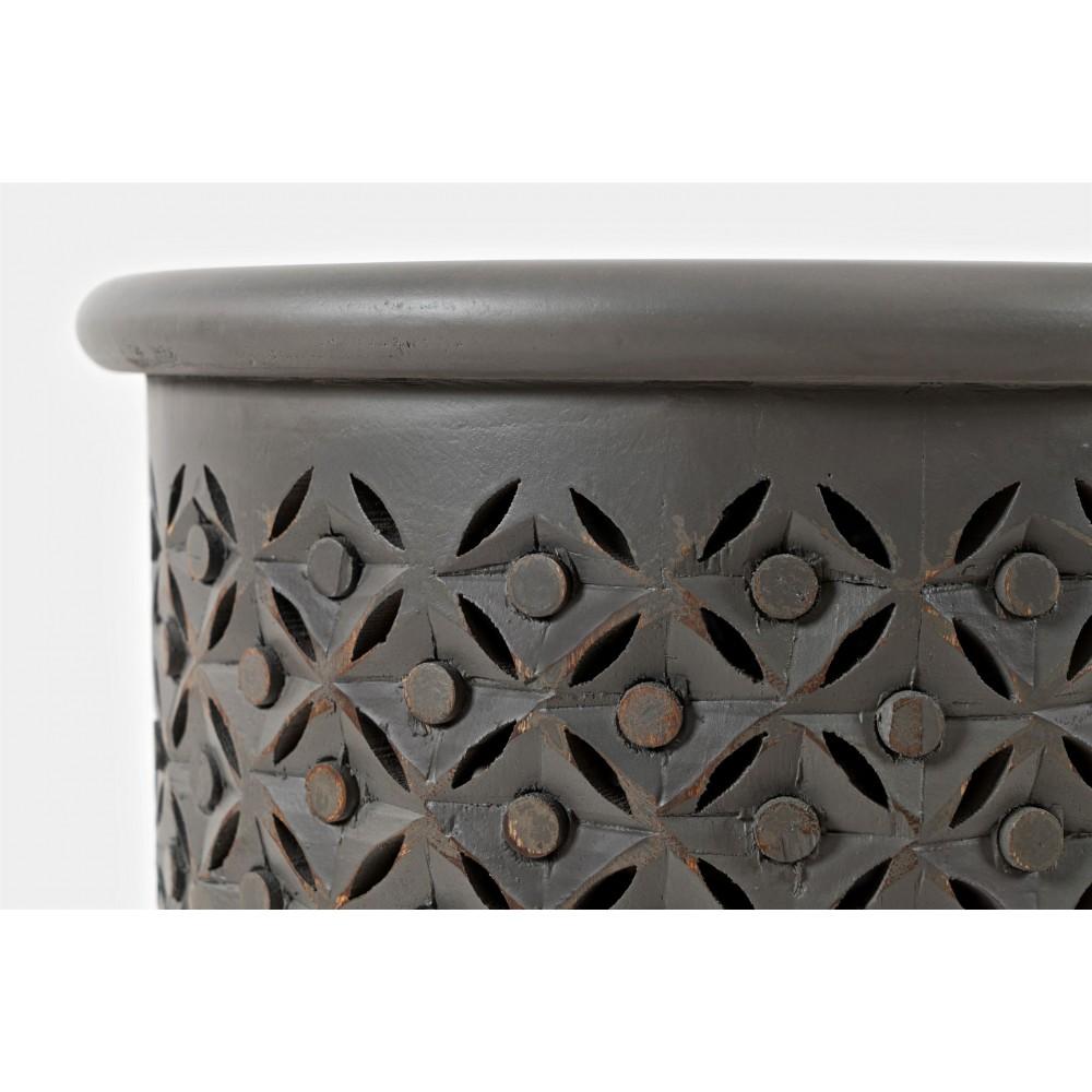 Ažūrinis kavos staliukas Avola Antique Grey