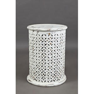 Ažūrinis kavos staliukas Avola Antique White