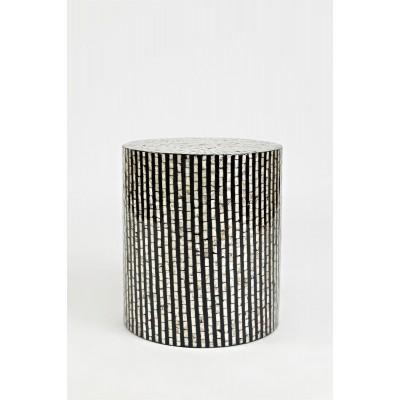 Apvalus kavos staliukas Avola Black