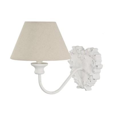 Sieninis šviestuvas Camo (baltas)