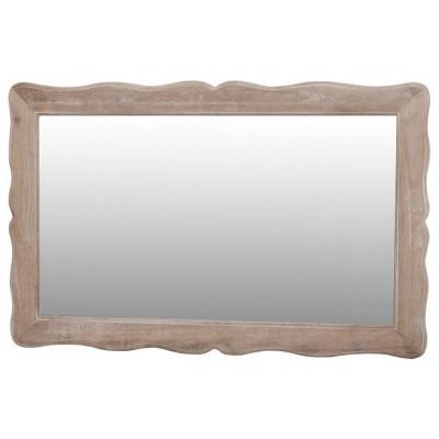 Sendintas, baltintas, stilizuotas veidrodis Pesaro