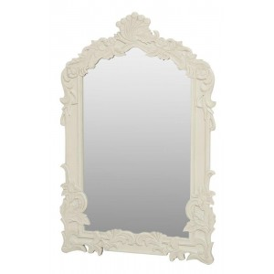 Dekoruotas provanso stiliaus veidrodis Savona