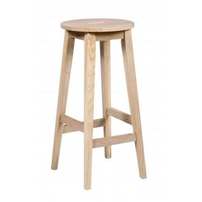 Baro kėdė Confetti, 75 cm, balinto ąžuolo, 2 vnt.