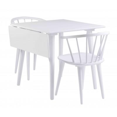 Kėdė Carmen, 2 vnt. (balta)