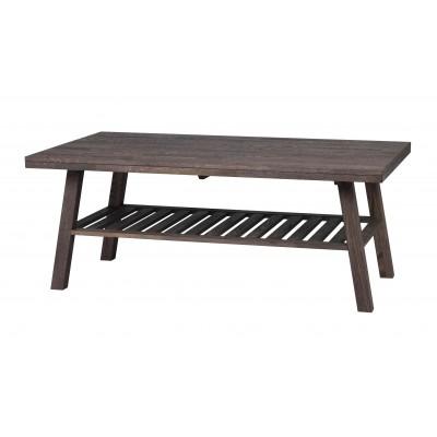 Kavos staliukas Brooklyn, 130x75 cm (šveisto ąžuolo, dūmų atspalvio)