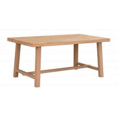 Valgomojo stalas Brooklyn, 170x95 cm (šveisto ąžuolo)