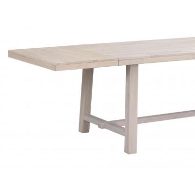 Valgomojo stalo Brooklyn prailginimas, 50x95 cm (balinto ąžuolo)