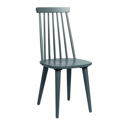 Vintažinio stiliaus kėdė Lotta, 4 vnt. (pilka)