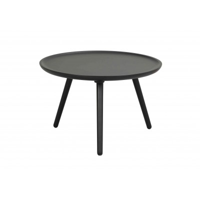 Apvalus kavos staliukas Daisy, 55 cm (juoda)