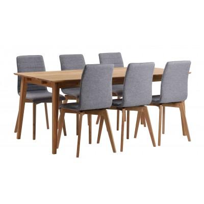 Valgomojo stalas Filippa, 180 cm (ąžuolo)