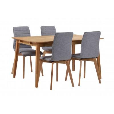 Valgomojo stalas Filippa, 140 cm (ąžuolo)