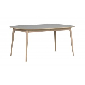 Valgomojo stalas Dawson, ovalus, 160/205 cm (balinto ąžuolo)